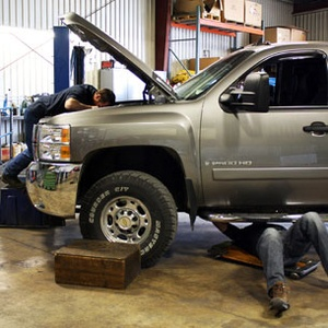 Our diesel repair shop with performance truck products opened in 1973.