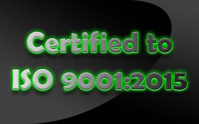 Area Diesel is ISO 9001:2015 Certified